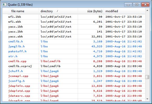 sort directory